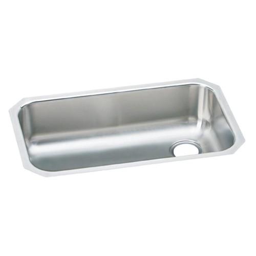 Elkay EGUH281610R Gourmet Elumina Stainless Steel Single Bowl Undermount Sink