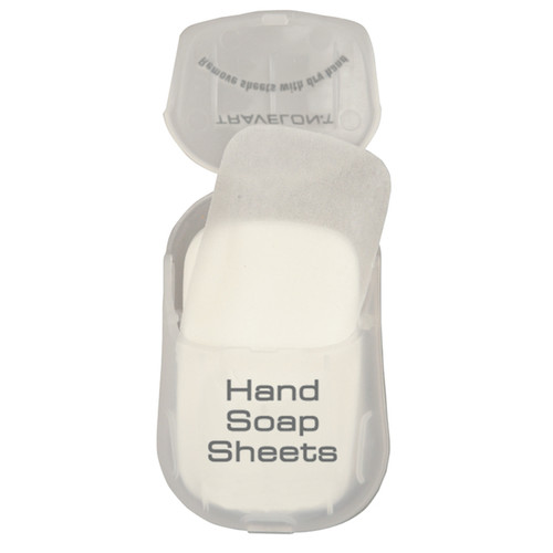 Travelon Hand Soap Toiletry Sheets (Two Packs of 50)