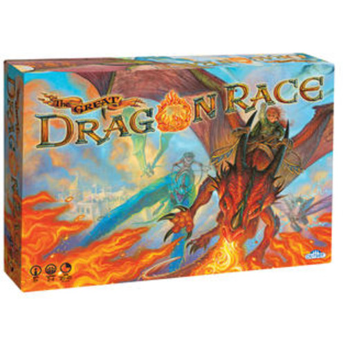 Outset Media The Great Dragon Race Board Game