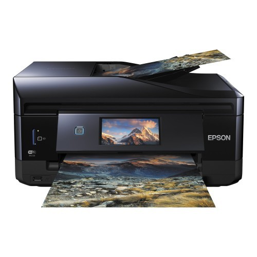 Epson Expression Premium XP-830 - Multifunction printer - color - ink-jet - Legal (8.5 in x 14 in) (original) - A4/Legal (media) - up to 11 ppm (copying) - up to 32 ppm