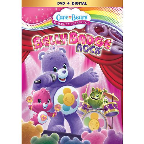 Care Bears: Belly Badge Rock DVD (DVD/Digital)