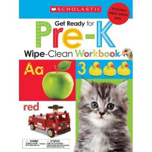 Get Ready for Pre-K Wipe-Clean Workbooks