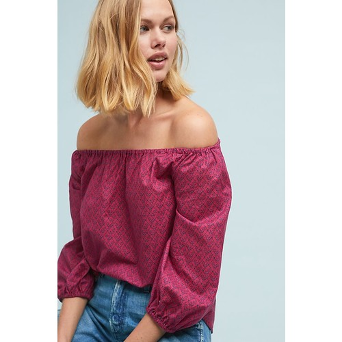 Maiden Off-The-Shoulder Blouse