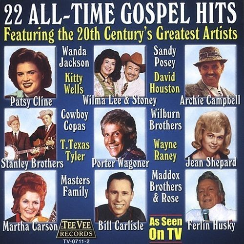 22 All Time Gospel Hits CD (2003)