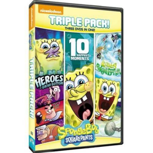 UNIVERSAL STUDIOS HOME ENTERT. Spongebob Squarepants Triple