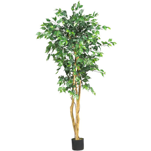 nearly natural 5-ft. Silk Ficus Tree