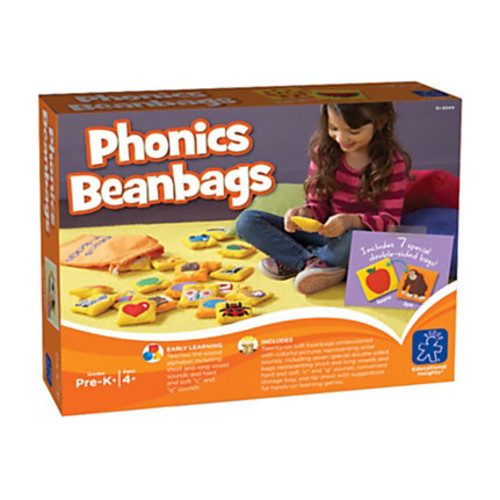 Learning Resources Phonics Bean Bags, Pack Of 26