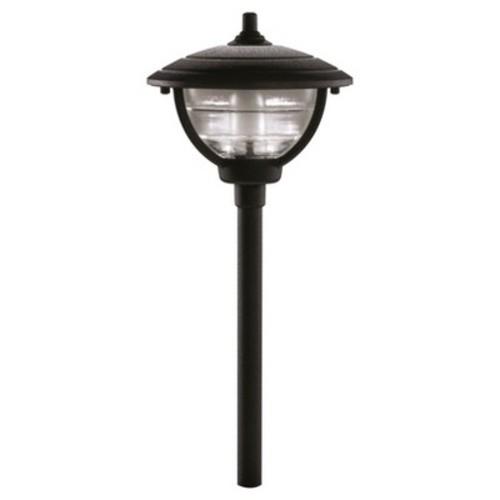 Paradise Garden Cast Aluminum Palm Island Path Light - Black