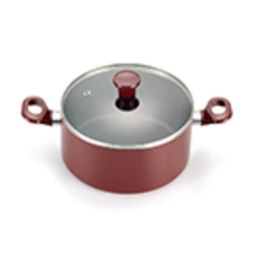T-Fal Excite 14-Piece Red Cookware Set with Lids