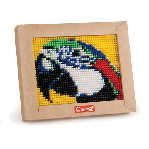 Quercetti Mini Macaw Pixel Art