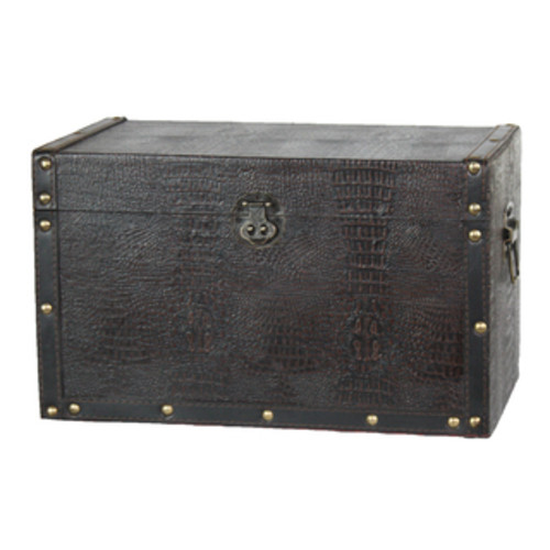 Studio 350 Decorative Trunks Iron Storage Trunk Set