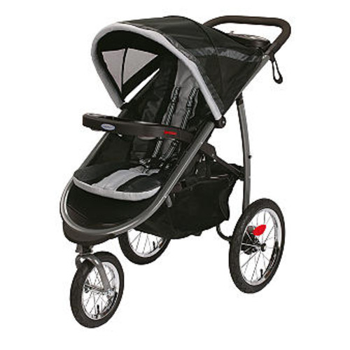 Graco FastAction Fold Jogger Click Connect Stroller - Gotham