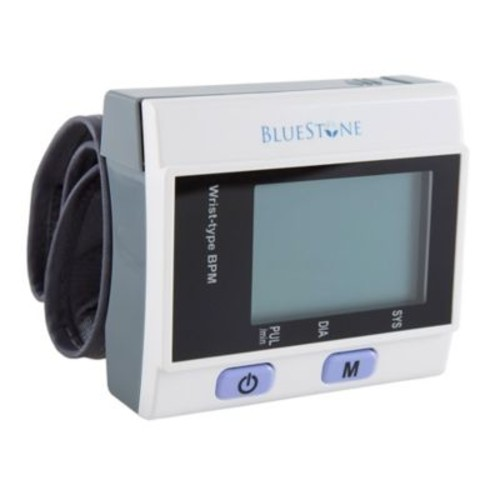Bluestone Automatic Wrist Blood Pressure Monitor in White