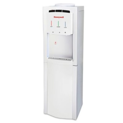 Honeywell Top-Loading Hot, Room, Cold Water Dispenser in White