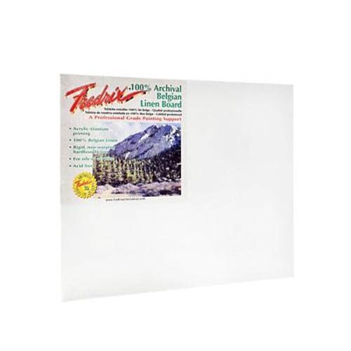 Fredrix Pro Series Archival Linen Canvas Boards 16 in. x 20 in.