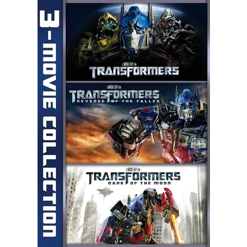 Transformers: 3-Movie Collection [3 Discs] [DVD]