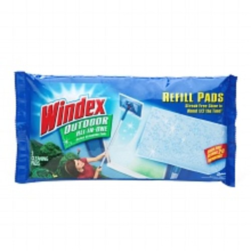 Windex Outdoor All-In-One Glass Cleaning Tool - Pads Refill