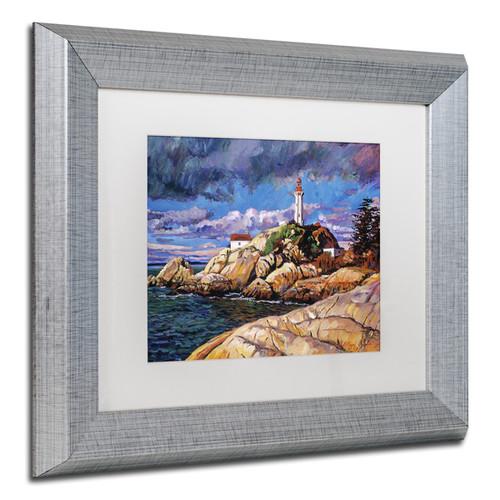 David Lloyd Glover 'The Mariner's Sentina' Matted Framed Art
