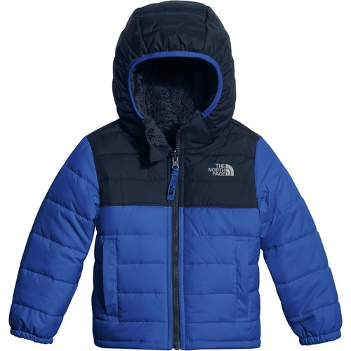 The North Face Reversible Mount Chimborazo Hooded Fleece Jacket - Toddler Boys'