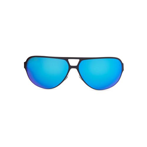 GUCCI Semi Matte Aviator Sunglasses, Navy