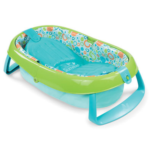 Summer Infant EasyStore Comfort Tub - Blue/Green