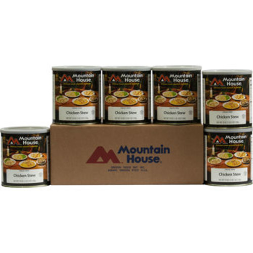 Mountain House Freeze Dried Chicken Stew 60 Servings