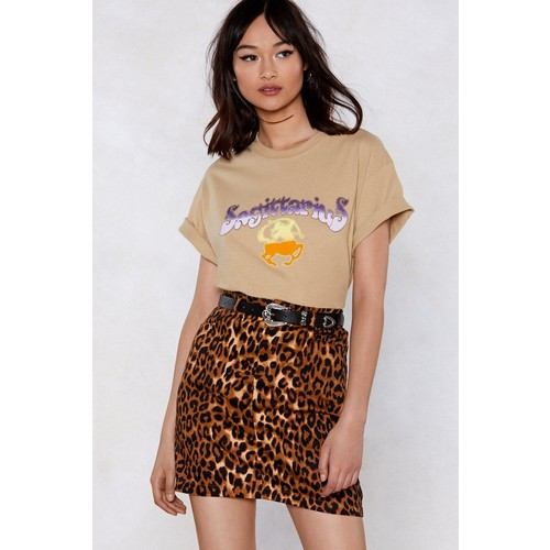 Animal Instincts Leopard Skirt