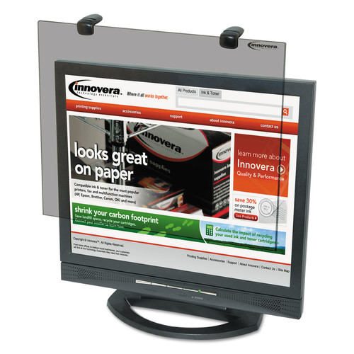 Innovera IVR46403 Protective Antiglare LCD Monitor Filter, Fits 19