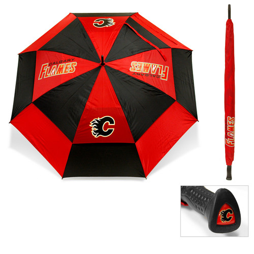 Team Golf NHL Golf Umbrella [Subject : Calgary Flames]