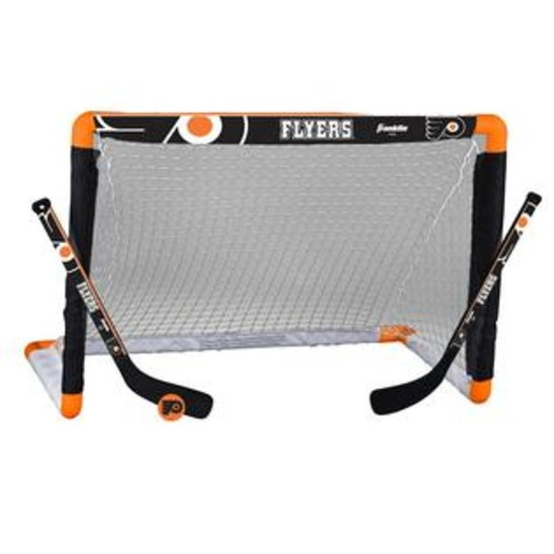 Franklin Sports NHL Philadelphia Flyers Mini Hockey Set