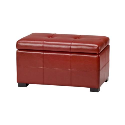 Safavieh Hudson Collection Maiden Small Tufted Storage Bench