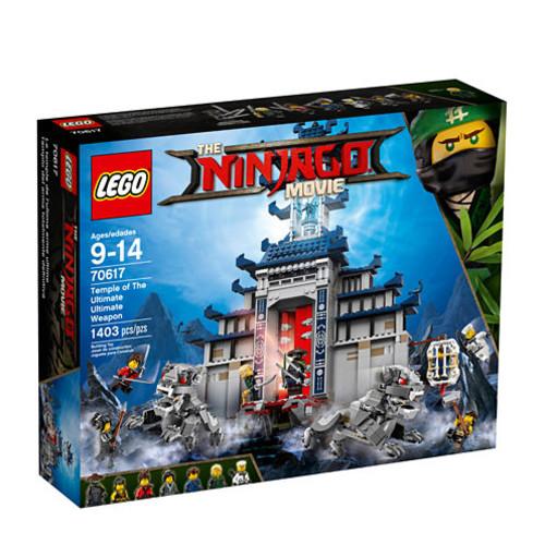 LEGO Ninjago Temple of The Ultimate Weapon 70617