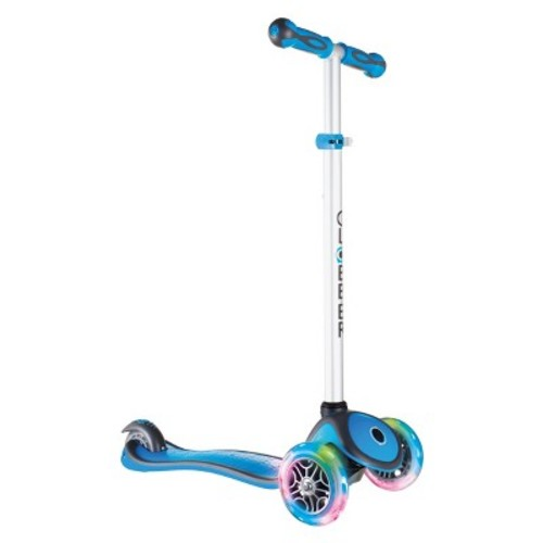 Globber Scooters Globber 3-Wheeled Adjustable Height Scooter with LED Light-Up Wheels