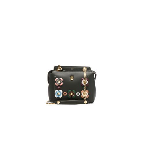 Fendi Embellished Dot Com Click in Green Grass & Multi