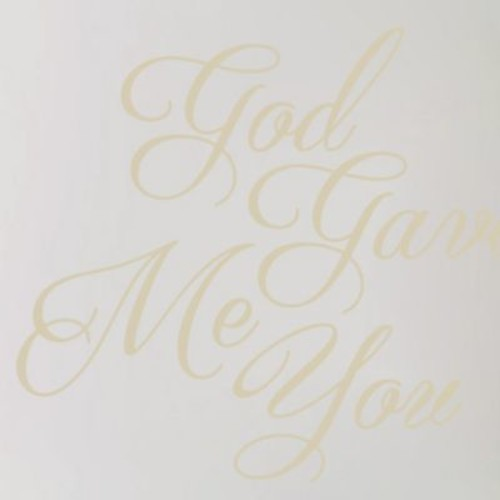 SweetumsWallDecals God Gave Me You Wall Decal; Light Beige