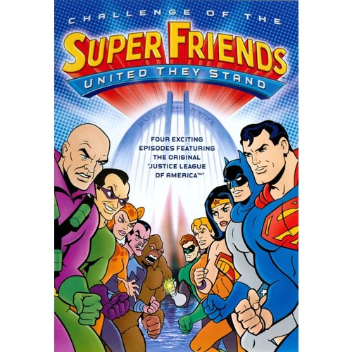 Challenge of the Superfriends: United They Stand [DVD]
