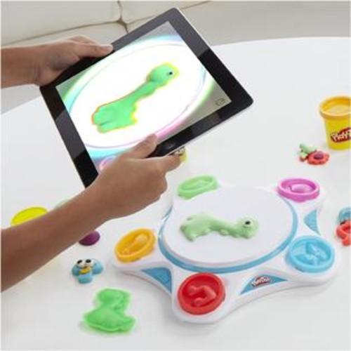 Hasbro Play-Doh Touch Shape to Life Studio Virtual World Digital Create Play Unique Custom Hasbro C2860