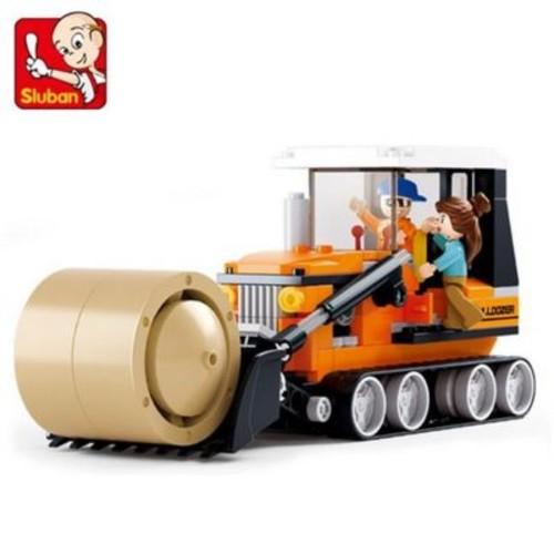 Sluban Buldozer Building Blocks Construction Set with 165 Bricks (CISA240)