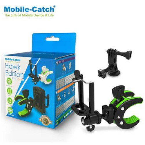 Mobile-Catch Bike Mount for Gopro Action Camera & Smartphone Accessories, Blue