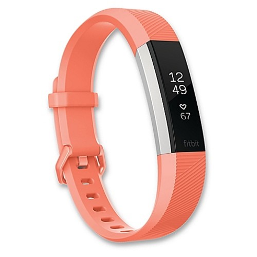 Fitbit Alta HR Large Fitness Wristband in Coral