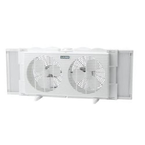 Lasko Products 2137 7 Inch Twin Window Fan 2 Speed