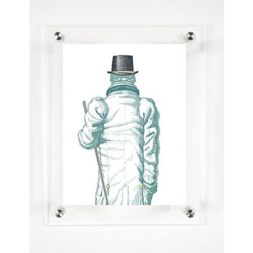 Mitchell Black - The Gentleman Decorative Framed Wall Canvas