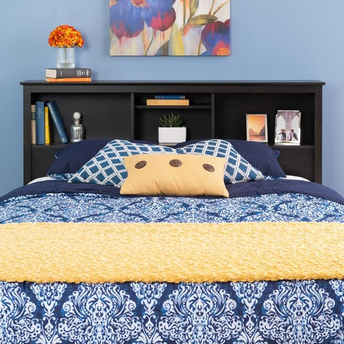 Prepac Sonoma Washed Black Double/Queen Headboard