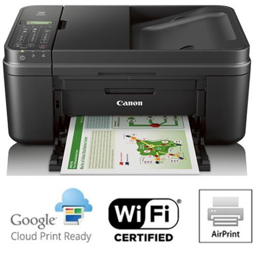 Canon PIXMA MX492 WiFi All-In-One Compact Size Printer Scanner Copier Fax