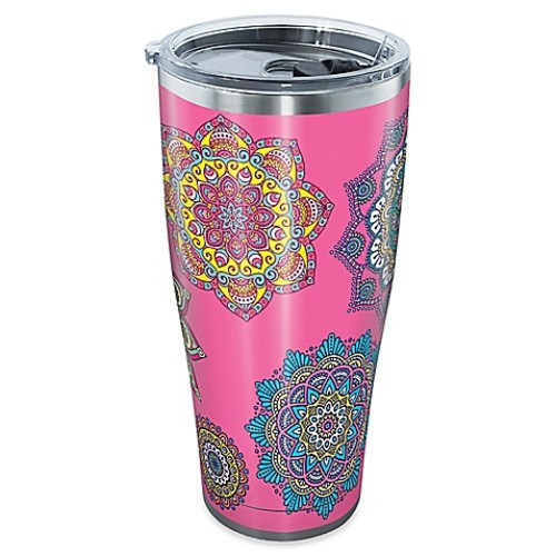 Tervis Colorful Mandalas 30 oz. Stainless Steel Tumbler with Lid