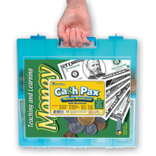 Learning Resources Cash Pax Money Briefcase
