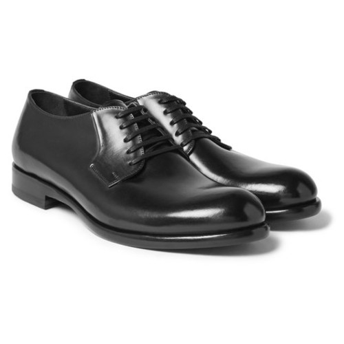 Harrys of London - Gerrard Polished-Leather Derby Shoes