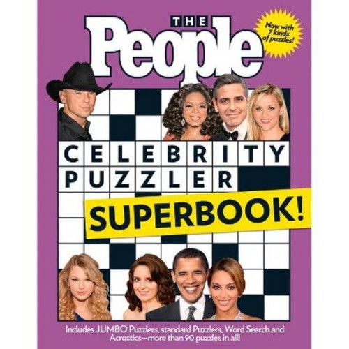 The People Celebrity Puzzler Superbook! (Paperback) by Cutler Durkee