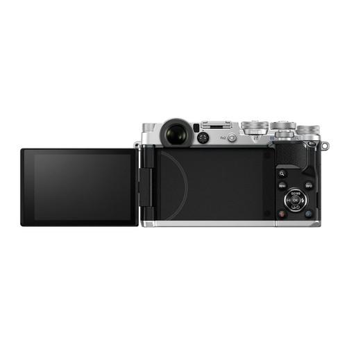 Olympus Pen-F Mirrorless Compact Digital Camera Body (Silver)