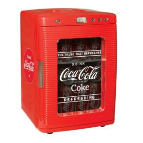 Koolatron 2.21 cu. ft. Coca-Cola Display Fridge